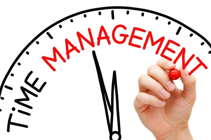 TIME MANAGEMENT IS REALLY NOT THE ISSUE